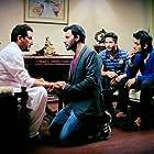 Gurdas Maan, Manav Vij, Jassie Gill, and Raj Singh Jhinger in Dil Vil Pyaar Vyaar (2014)