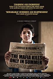 The Mafia Kills Only in Summer Poster