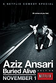Aziz Ansari: Buried Alive Poster