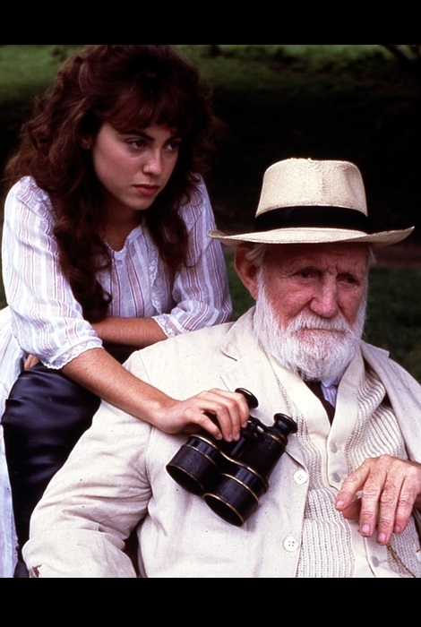 Trevor Howard and Rebecca Pidgeon in The Dawning (1988)