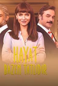 Ufuk Özkan, Birce Akalay, Kanbolat Gorkem Arslan, and Sevda Erginci in Hayat Bazen Tatlidir (2016)