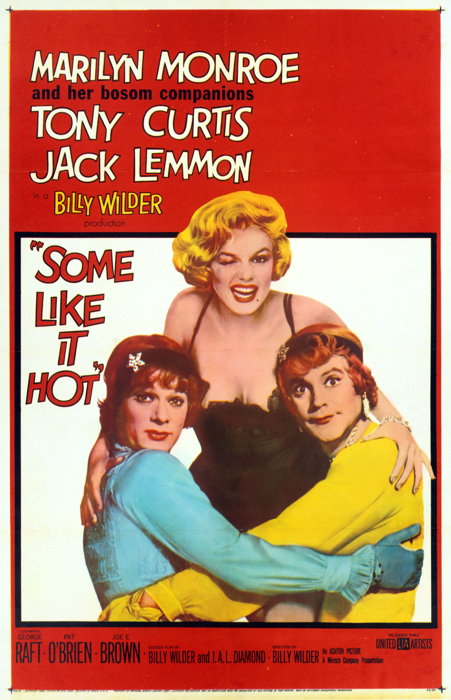 Some Like It Hot (1959) BluRay 720p & 1080p