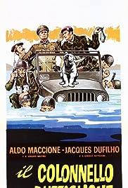 Il colonnello Buttiglione diventa generale Poster
