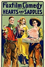 Hearts and Saddles Poster