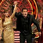 Salman Khan, Hina Khan, and Shilpa Shinde in Bigg Boss (2006)