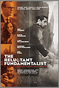 Liev Schreiber, Kiefer Sutherland, Kate Hudson, and Riz Ahmed in The Reluctant Fundamentalist (2012)