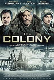 Bill Paxton, Laurence Fishburne, and Kevin Zegers in The Colony (2013)