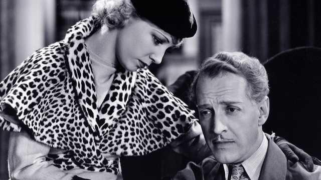 Otto Kruger and Una Merkel in The Women in His Life (1933)