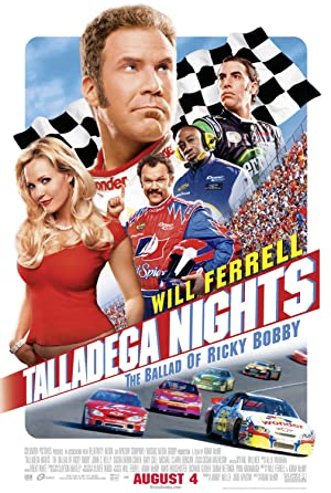 Where to stream Talladega Nights: The Ballad of Ricky Bobby