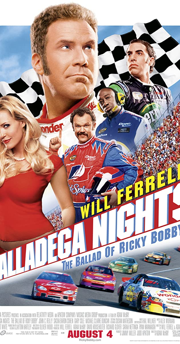Subtitle of Talladega Nights: The Ballad of Ricky Bobby