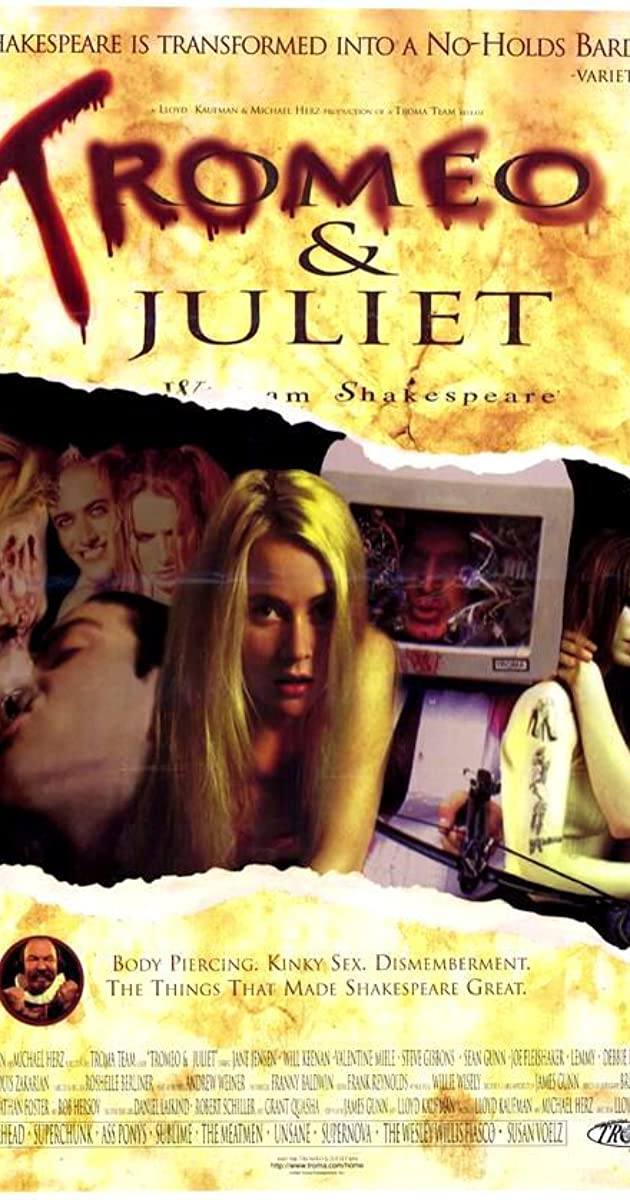 Subtitle of Tromeo and Juliet