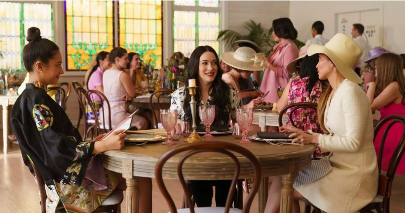 Brenda Song, Kat Dennings, and Shay Mitchell in Dollface (2019)