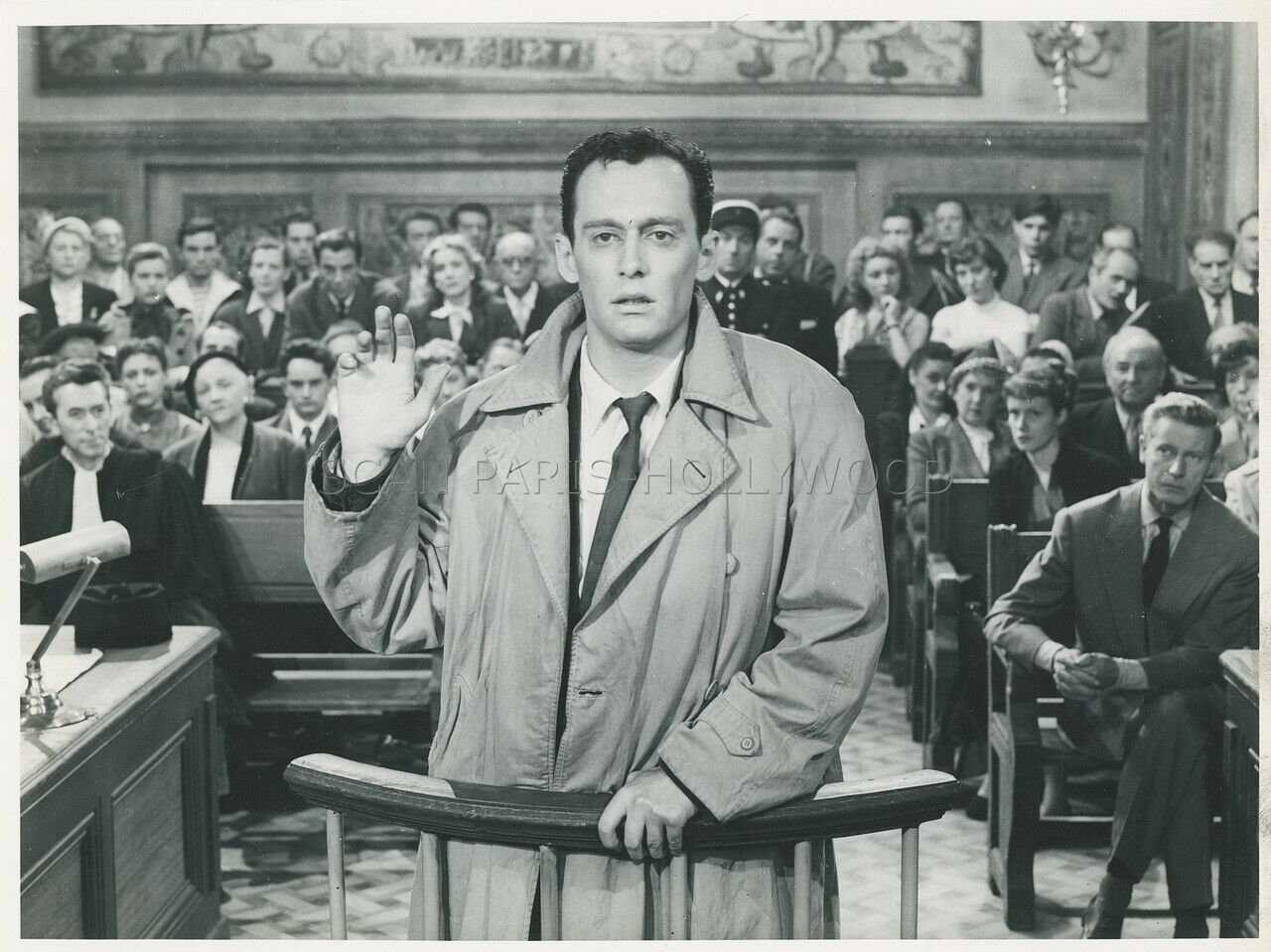 Maurice Ronet in Le guérisseur (1953)