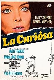 La curiosa Poster