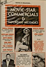 Movie Star Commercials and Important Messages Poster