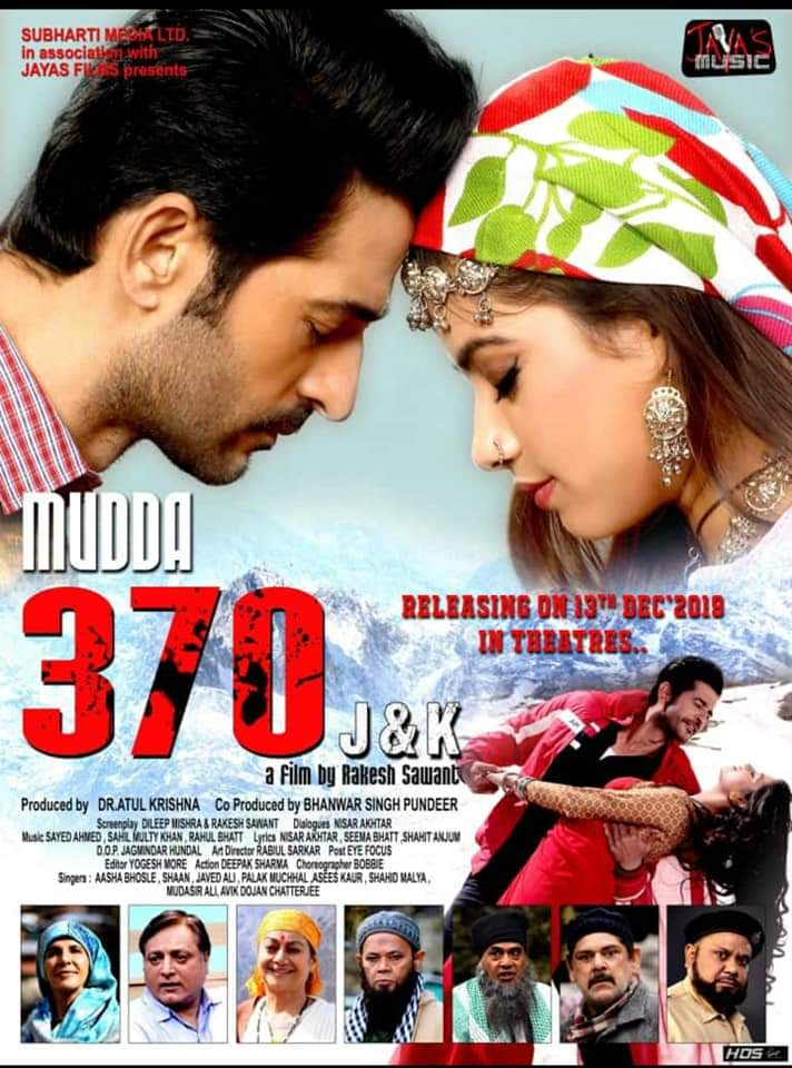 Download Mudda 370 J&K (2019) 720p WEBRip x264 Hindi AAC |