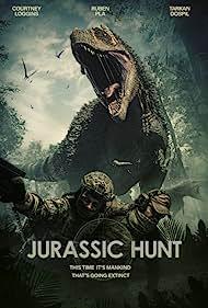 Ruben Pla, Tarkan Dospil, and Courtney Loggins in Jurassic Hunt (2021)