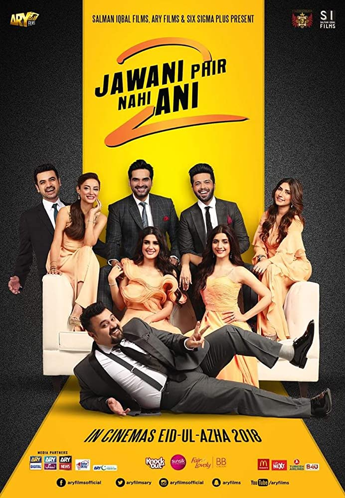 Jawani Phir Nahi Ani 2 2018 Urdu 720p SDTV 1.2GB
