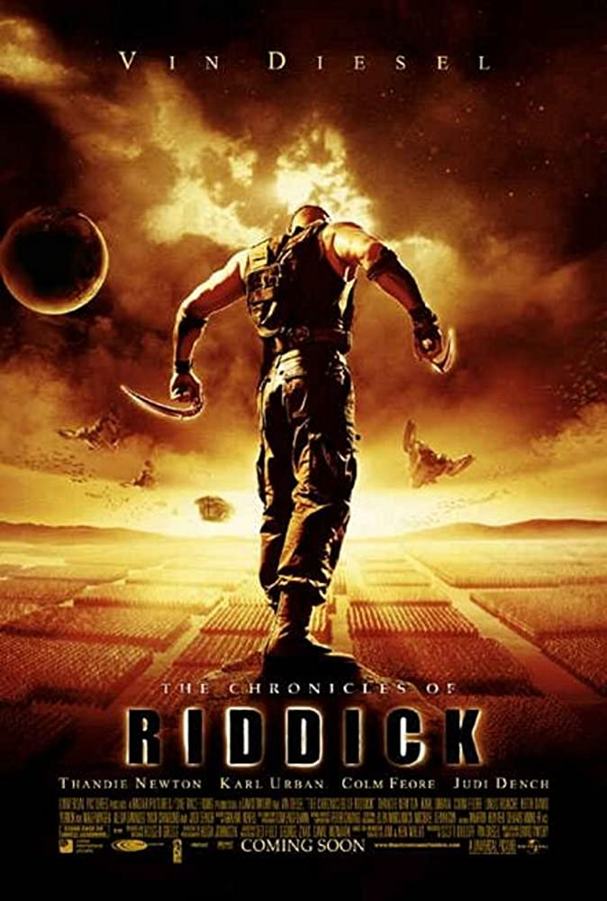 The Chronicles of Riddick 2004 Hindi Dual Audio 400MB BluRay Download