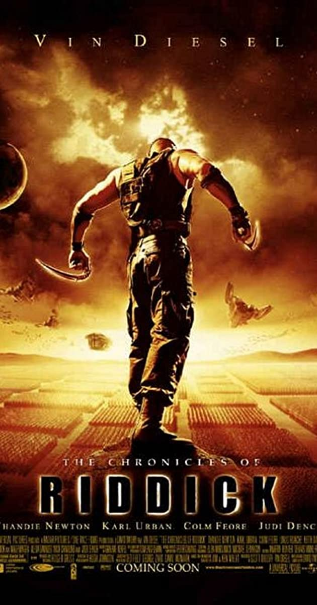 Subtitle of The Chronicles of Riddick