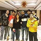 Dino Morea, Pranutan Bahl, Ashish Verma, Abhishek Banerjee, and Aparshakti Khurana in Helmet (2021)