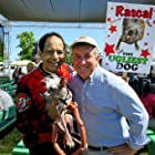 Dane Andrew, Kerry Sanders, and Rascal the Ugliest Dog in Weekend Today (1987)