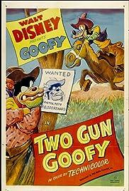 Two Gun Goofy Poster