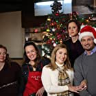 Shanda Lee Munson, Heather Lynch, Christina Leidel, Faith Dillon, and Michael LaCour in The Christmas Reunion (2016)
