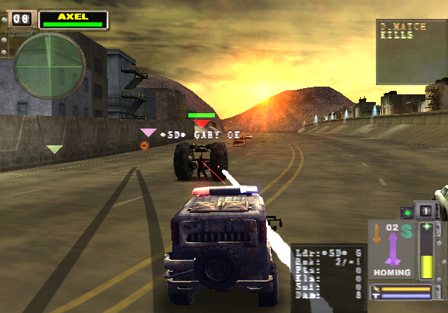 twisted metal black 2001