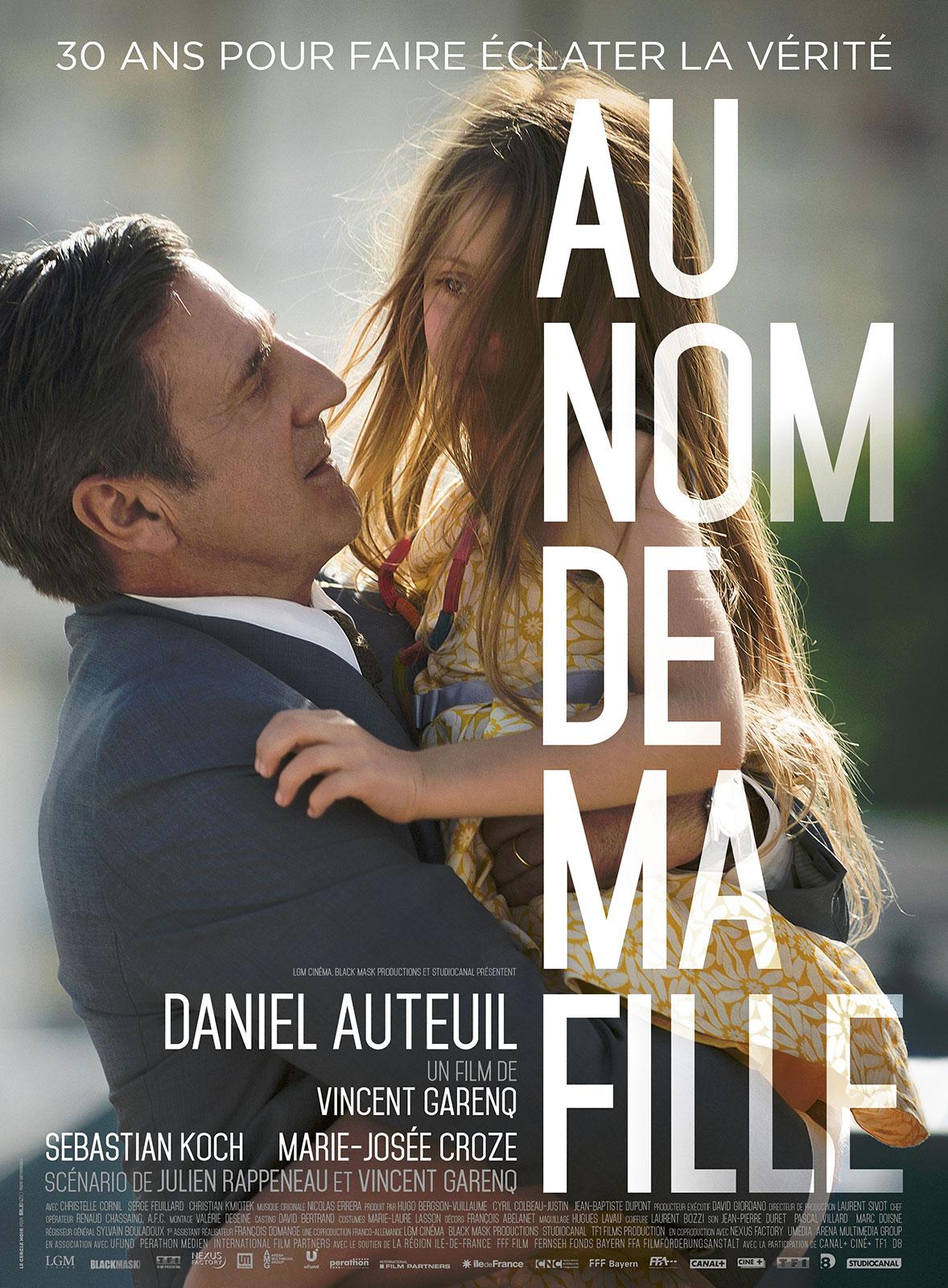 Resultado de imagem para movie poster Au Nom De Ma Fille
