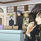 Fumiko Orikasa, Jun Fukuyama, Sayaka Ôhara, Noriaki Sugiyama, and Takahiro Mizushima in Kôdo giasu - Hangyaku no rurûshu: Code Geass - Lelouch of the Rebellion (2006)