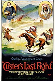 Francis Ford and William Eagle Shirt in Custer's Last Fight (1912)