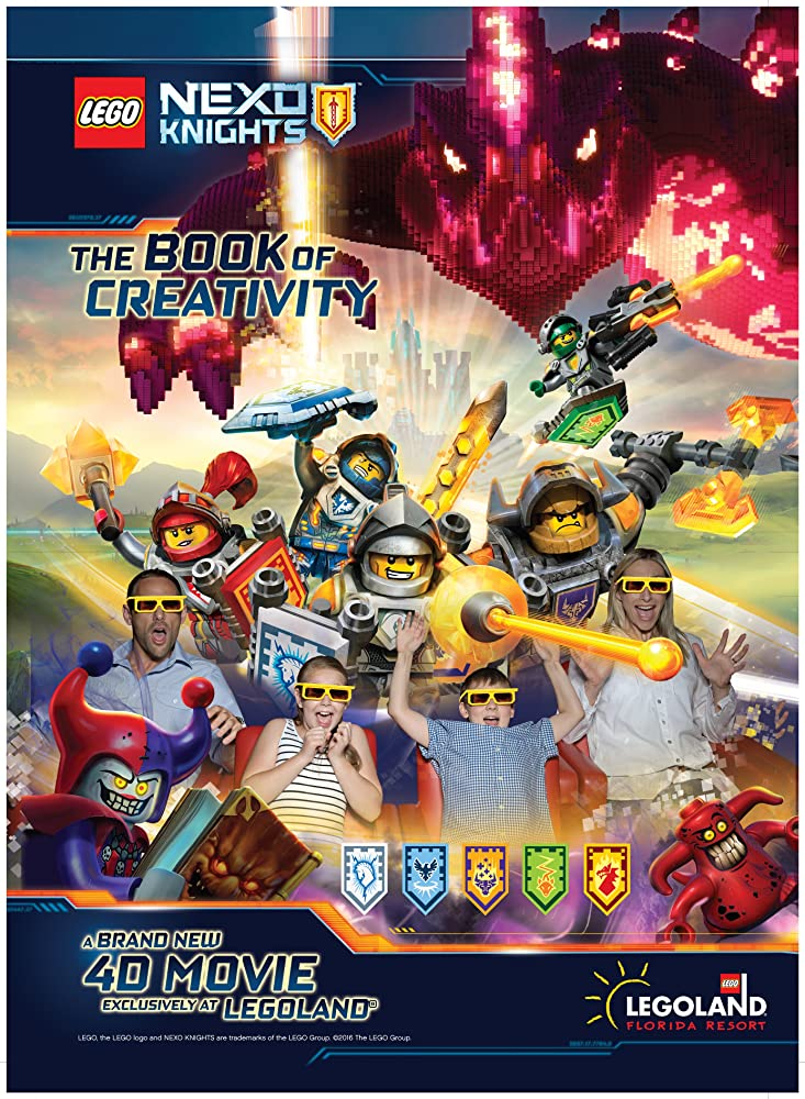 LEGO Nexo Knights 4D: The Book of Creativity (2016)