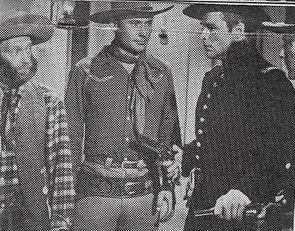 Buster Crabbe, Dave O'Brien, and Al St. John in Law and Order (1942)