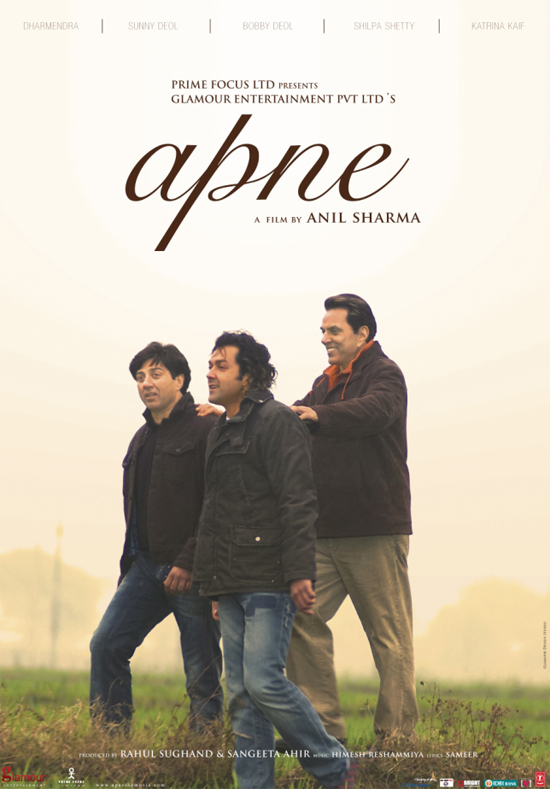 Apne 2007 Hindi Movie 720p HDRip 1.3GB ESub Download