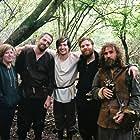 Chris Wilson, Xander Phillips, Martyn Eade, Danielle Thorpe, and Seth Easterbrook in The Bastard Sword (2018)