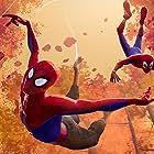 Jake Johnson and Shameik Moore in Spider-Man: Into the Spider-Verse (2018)