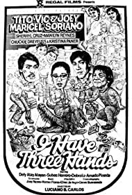 Joey de Leon, Tina Paner, Tito Sotto, Manilyn Reynes, Sheryl Cruz, and Vic Sotto in I Have Three Hands (1985)