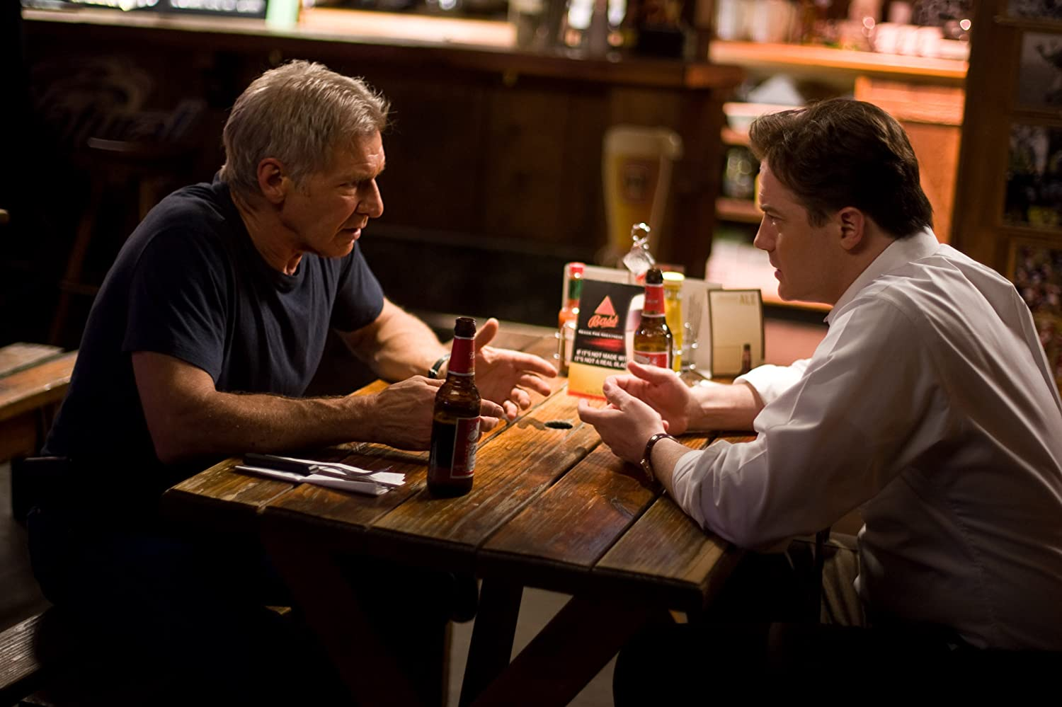 Harrison Ford and Brendan Fraser in Extraordinary Measures (2010)