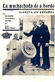 Luis Sandrini in La muchachada de a bordo (1936)