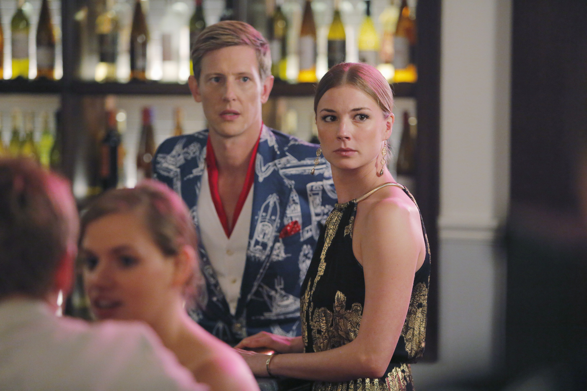 Gabriel Mann and Emily VanCamp in Revenge (2011)