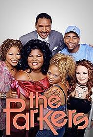Jenna von Oÿ, Ken Lawson, Mo'Nique, Countess Vaughn, and Dorien Wilson in The Parkers (1999)