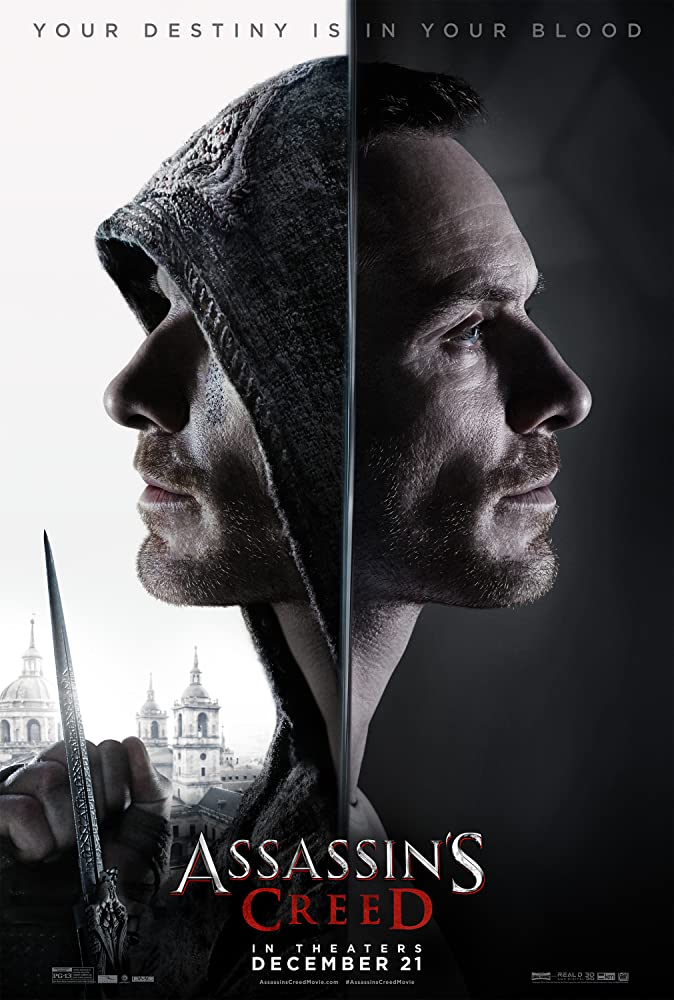 Michael Fassbender in Assassin's Creed (2016)