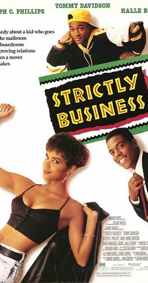 Subtitle of Strictly Business