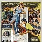 Richard Conte and Linda Christian in Slaves of Babylon (1953)