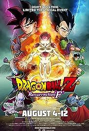 Dragon Ball Z: Resurrection 'F' Poster