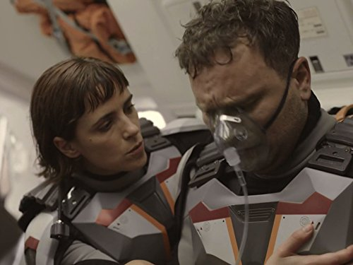 Ben Cotton and Clémentine Poidatz in Mars (2016)