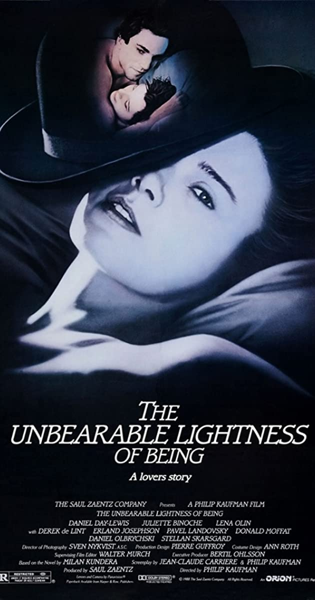 Subtitle of The Unbearable Lightness of Being