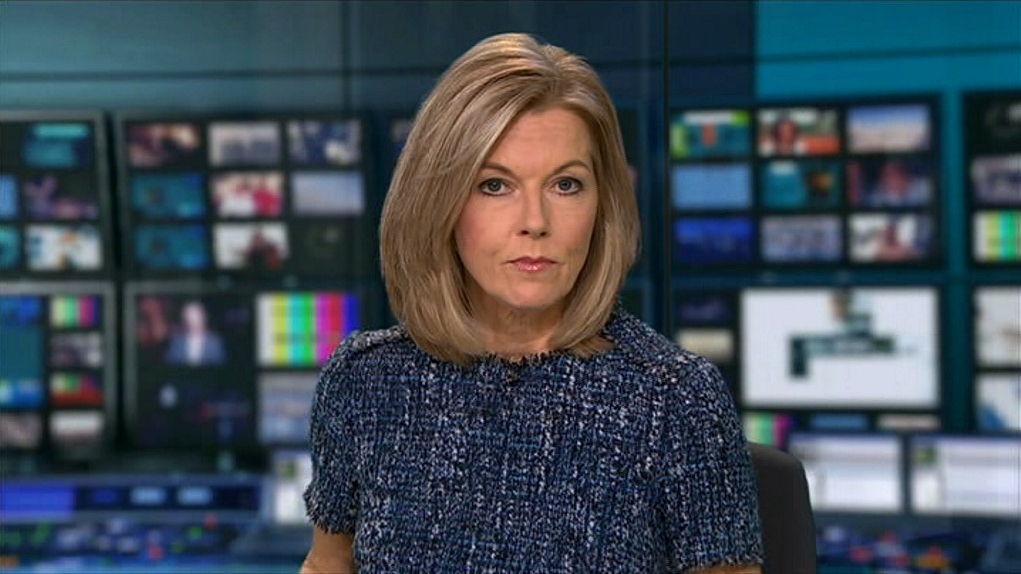 Mary Nightingale in ITV Evening News (1999)