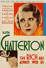Ruth Chatterton in The Rich Are Always with Us (1932)